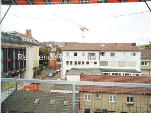Blick vom Balkon_Mietwohnung_Stuttgart West