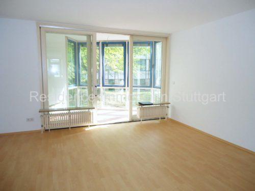 Wohnzimmer - Mietwohnung - Stuttgart West