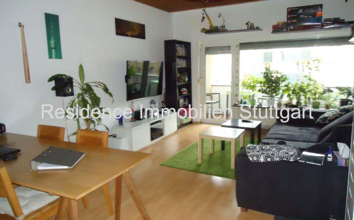 Wohnzimmer - Wohnung - Stuttgarter Westen
